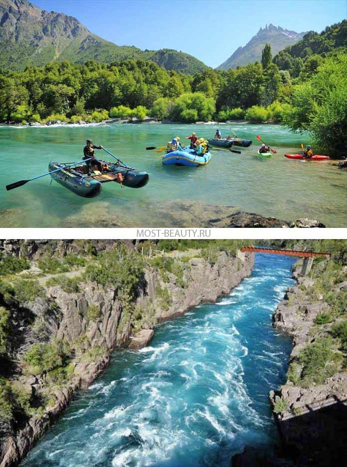 Самые красивые реки: Футалеуфу