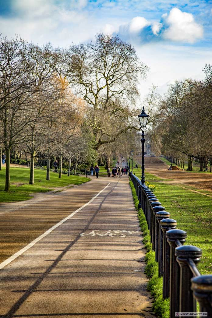 Самые красивые парки мира: Гайд-парк в Лондоне