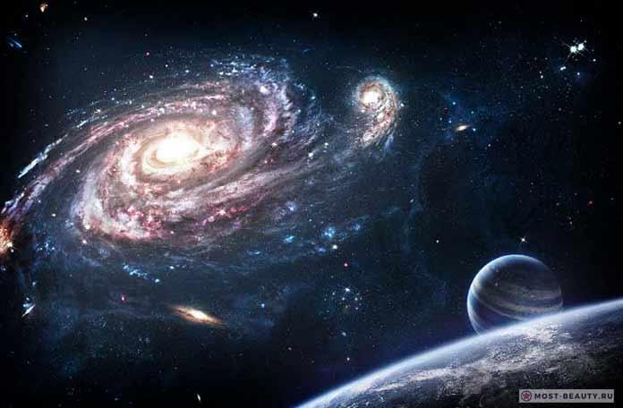 Галактика и необычные звезды
