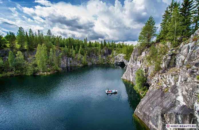 Красивые места России: Горный парк Рускеала