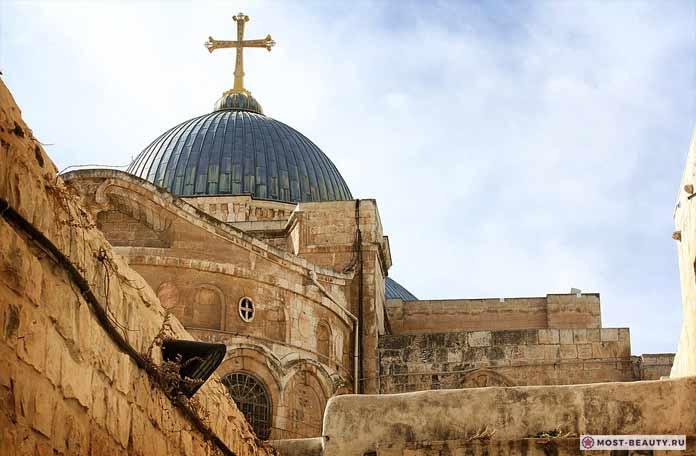 Самые красивые церкви: Храм Гроба Господня. Израиль. CC0