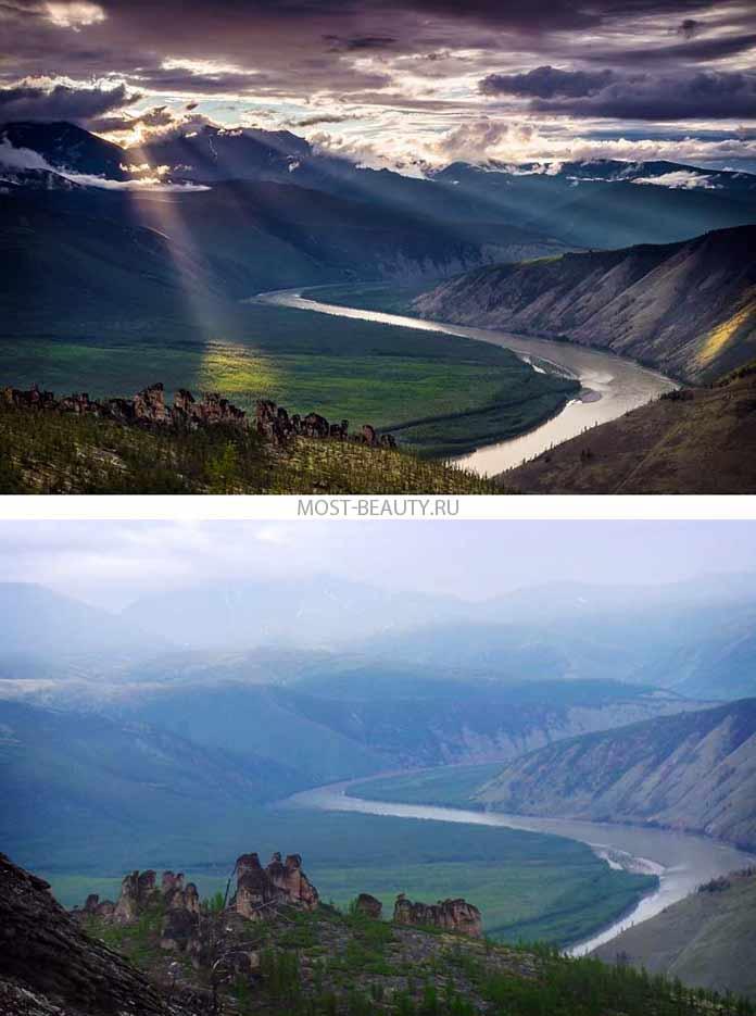 Самые красивые реки: Индигирка