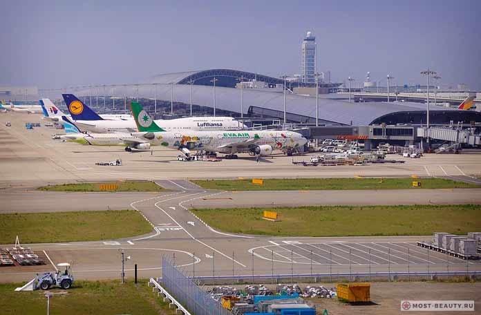 Самые красивые аэропорты в мире: Kansai International Airport