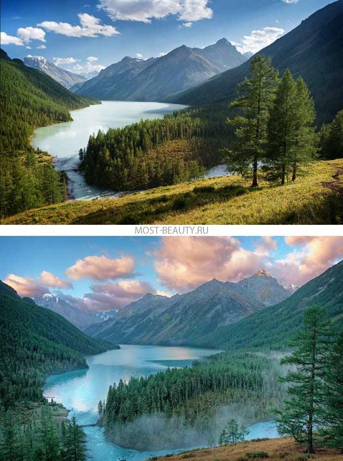 Самые красивые реки: Катунь