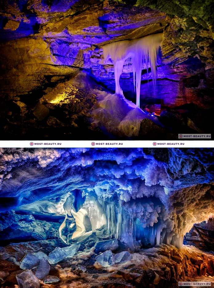 Красивые места России: Кунгурская пещера