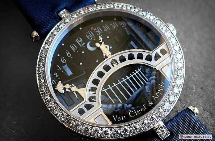 Самые красивые часы: Lady Arpels Pont des Amoureux