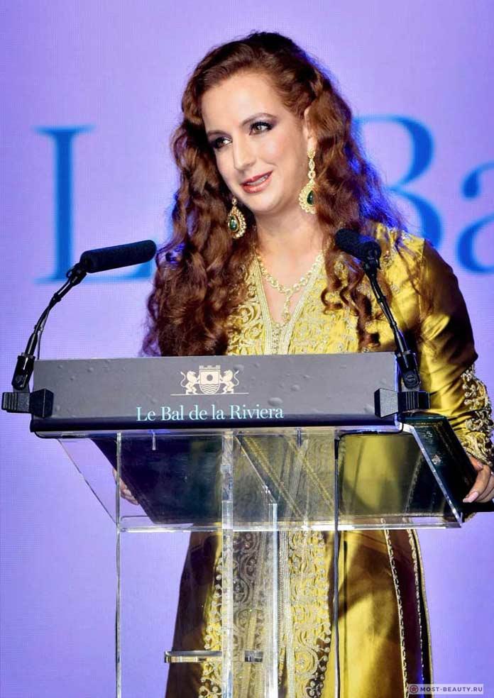 Красивые жёны президентов: Лалла Сальма