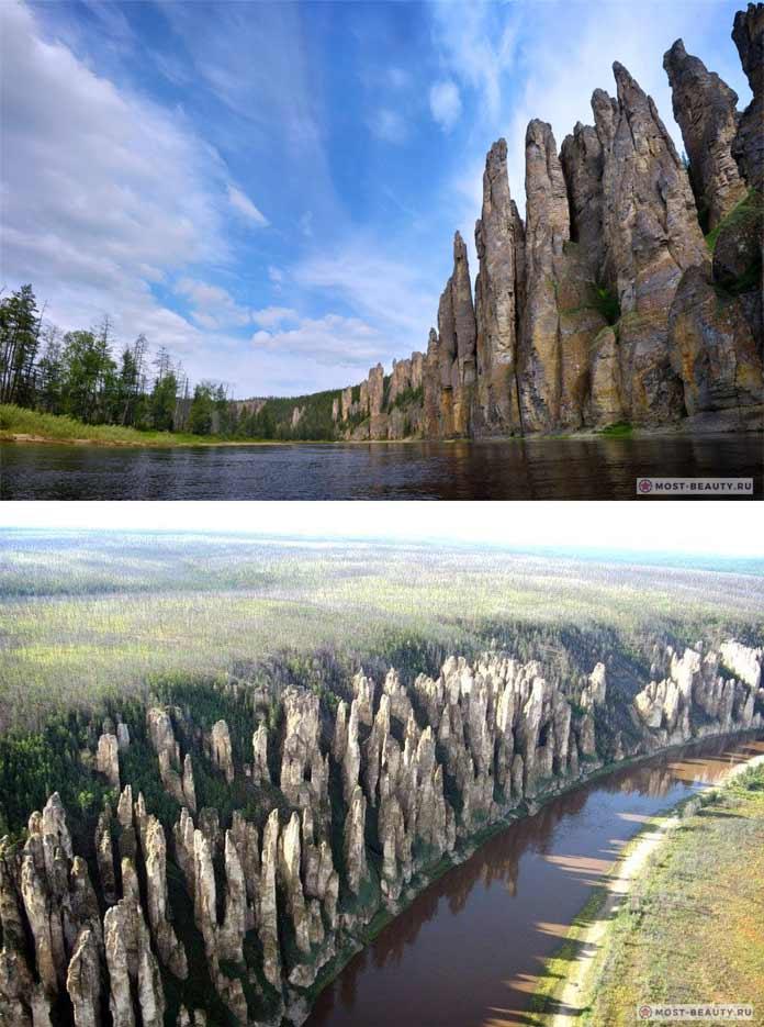 Красивые места России: Ленские столбы