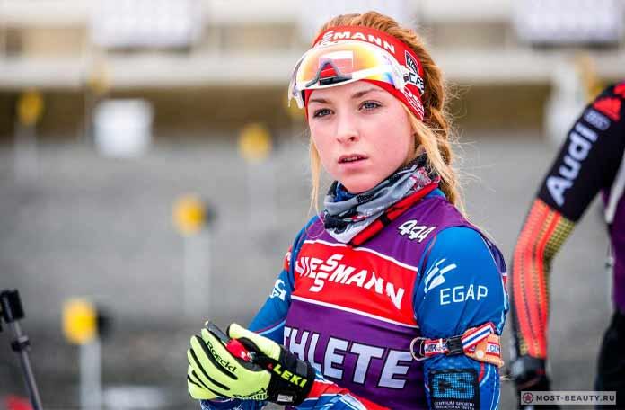 Красивые биатлонистки: Маркета Давидова