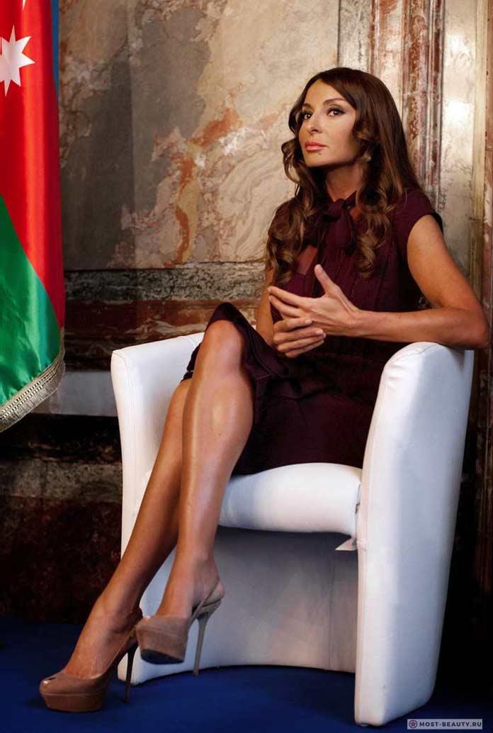 Красивые жёны президентов: Мехрибан Алиева