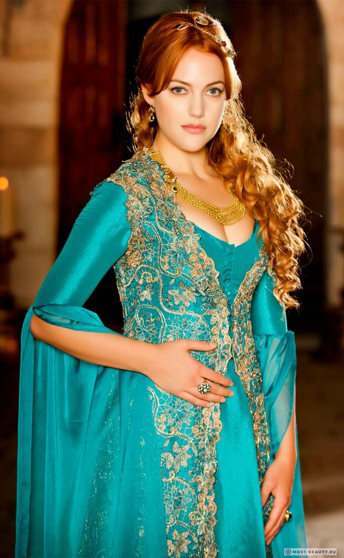 Самые красивые турецкие актрисы: Мерьем Узерли