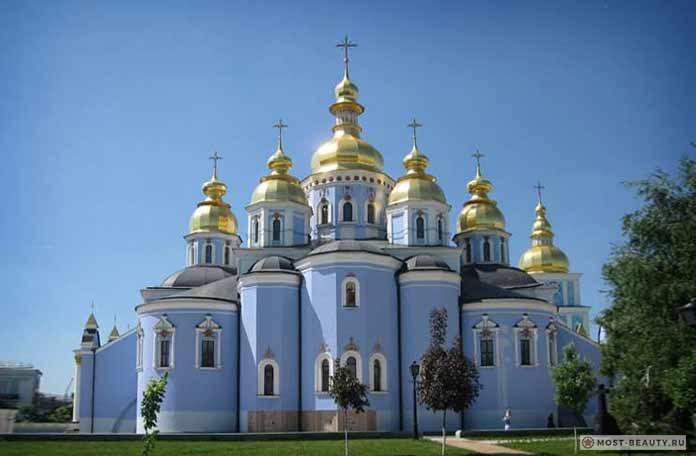 Самые красивые церкви: Михайловский Златоверхий собор