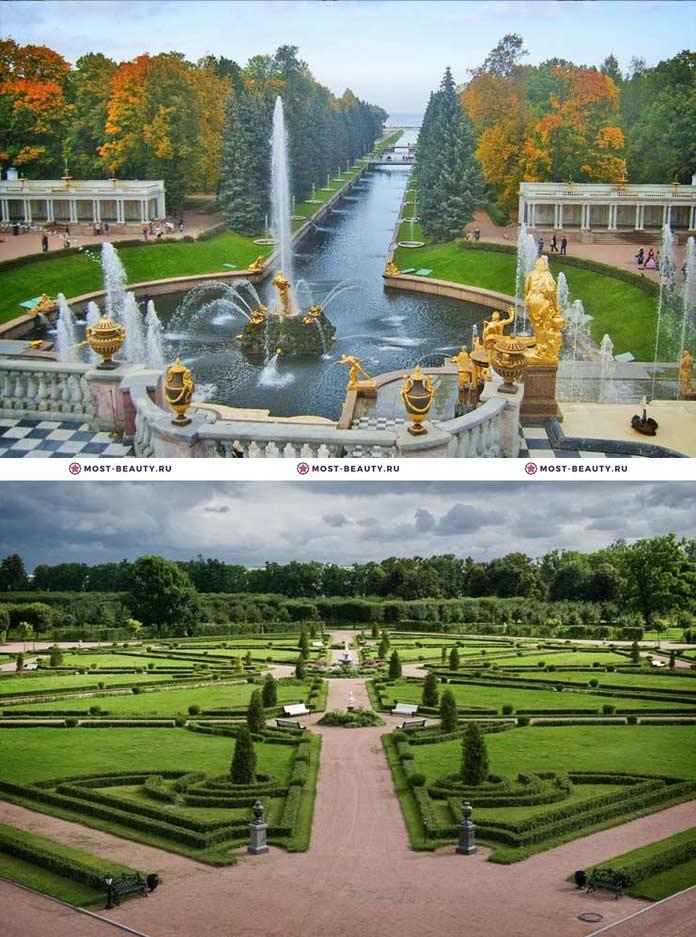 Самые красивые парки мира: Петергоф