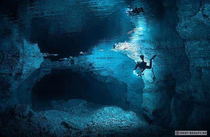 Красивые места России: Ординская пещера