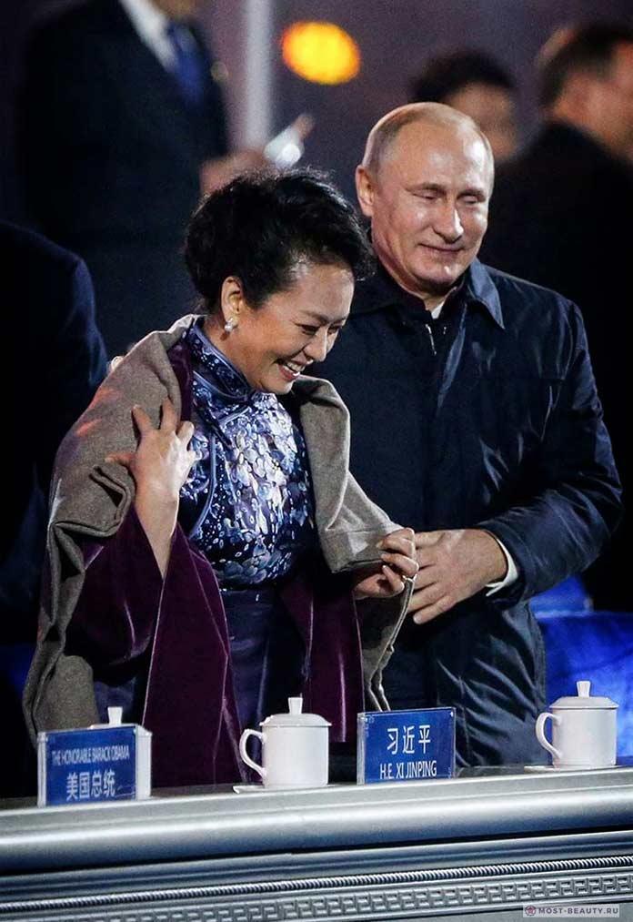 Красивые жёны президентов: Пэн Лиюань