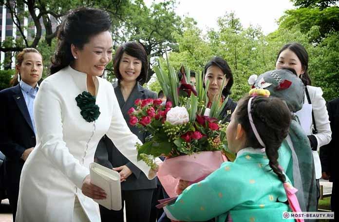 Самые красивые первые леди: Пэн Лиюань