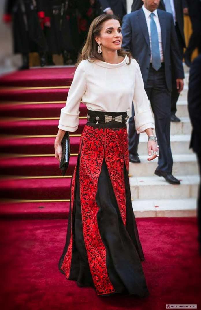 Красивые жёны президентов: Rania Al-Abdullah