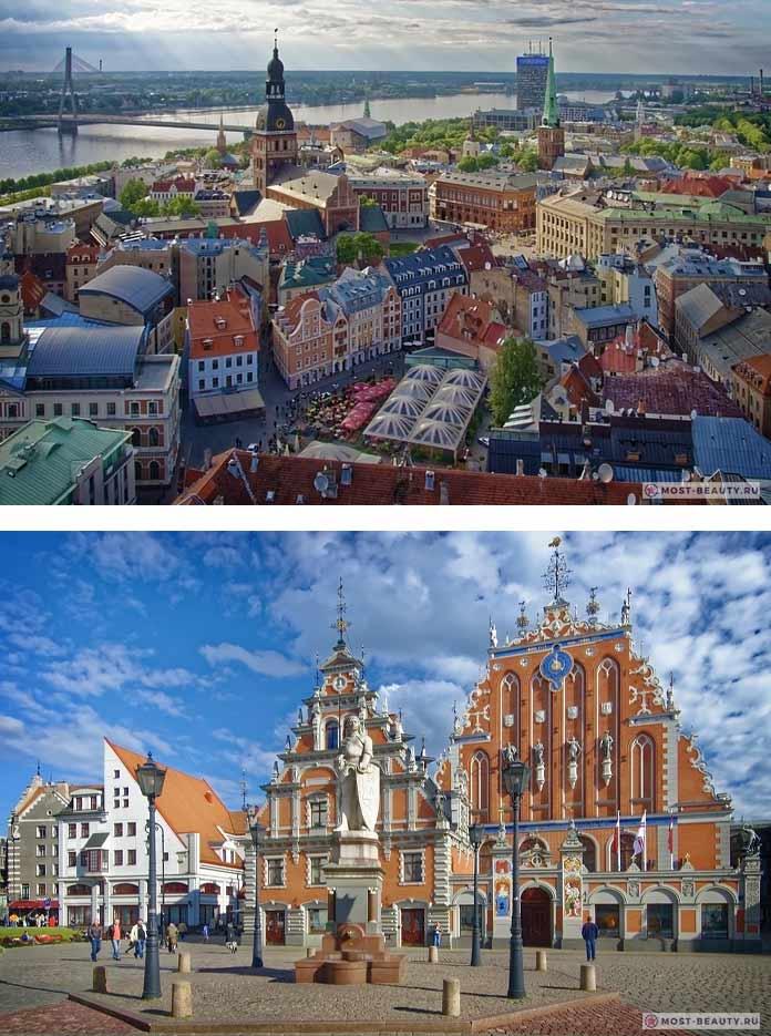 Самые красивые столицы: Рига. CC0