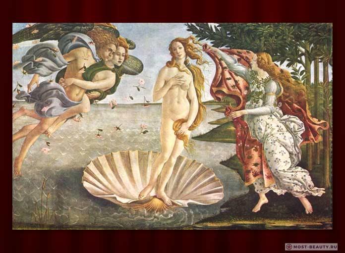 Самые красивые картины: Рождение Венеры