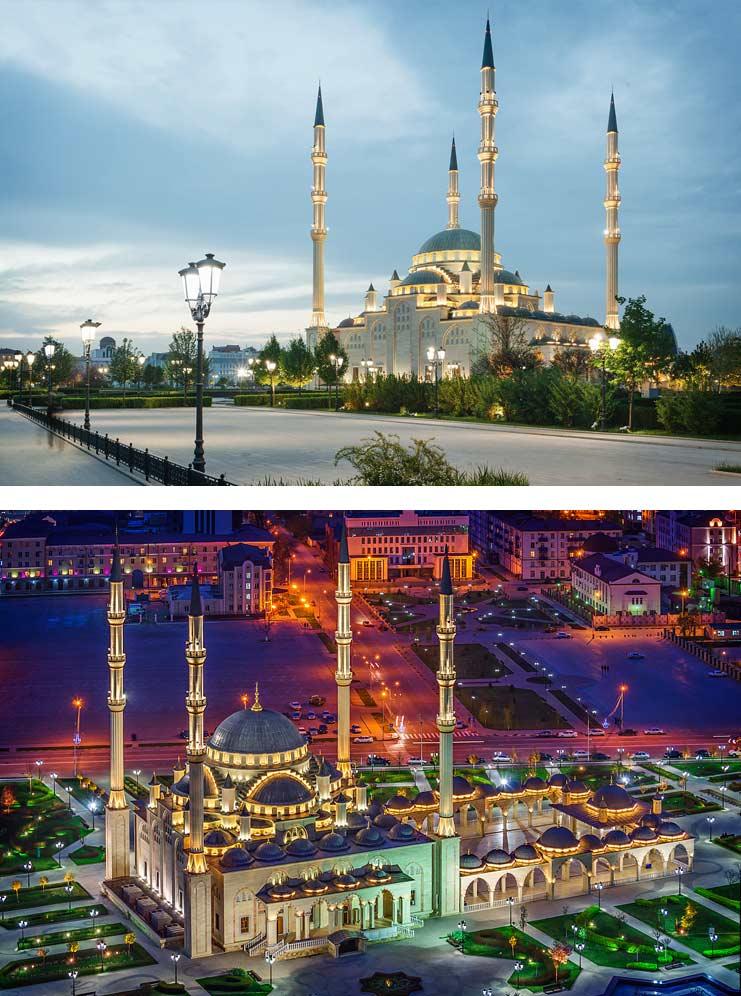 Самые красивые мечети России: Сердце Чечни