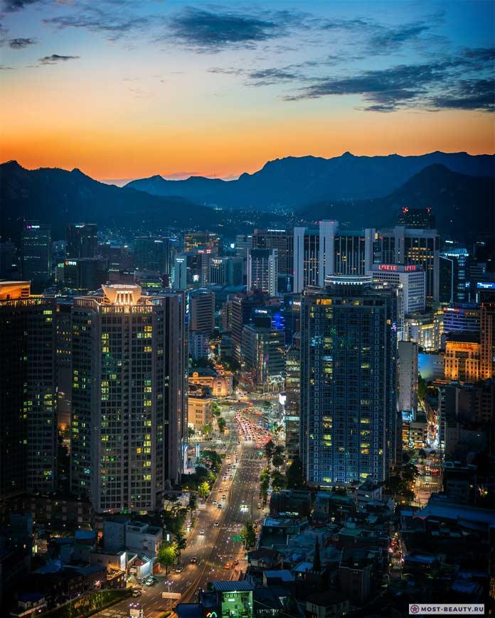 Самые красивые столицы: Сеул. CC0