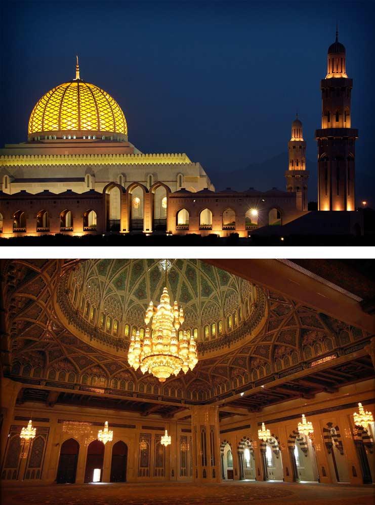 Очень красивые мечети: Султана Кабуса