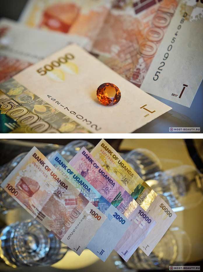 Самые красивые банкноты в мире: Угандийский шиллинг. CC0