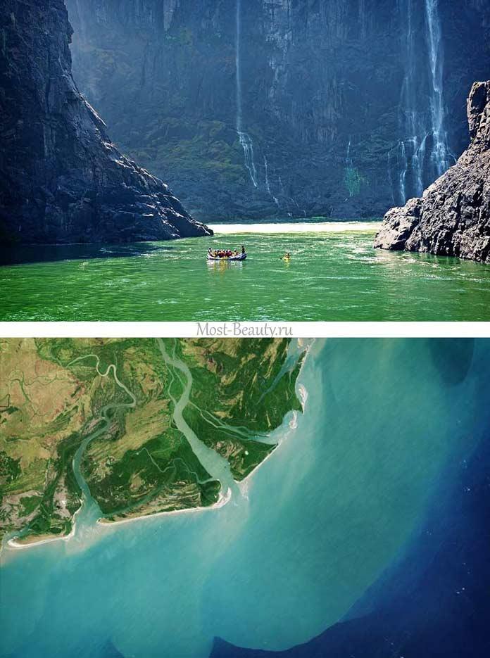Самые красивые реки: Замбези