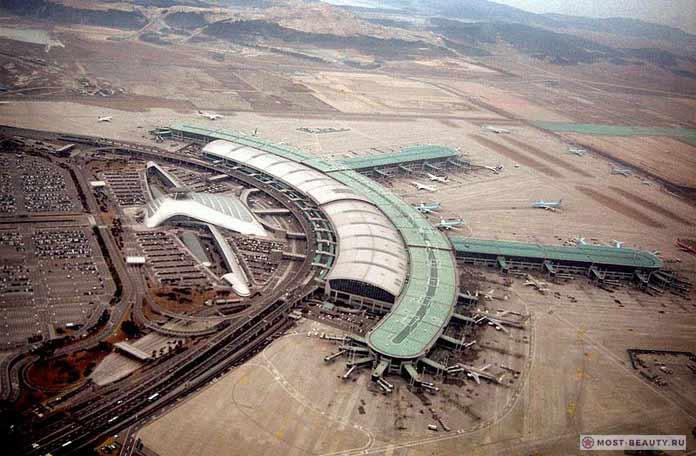 Самые красивые аэропорты в мире: Инчхон