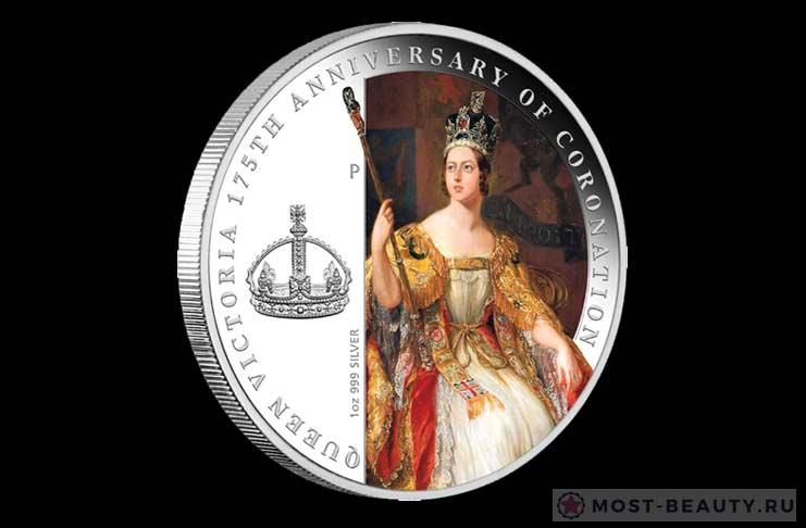 175 годовщина коронации королевы Виктории». Канада