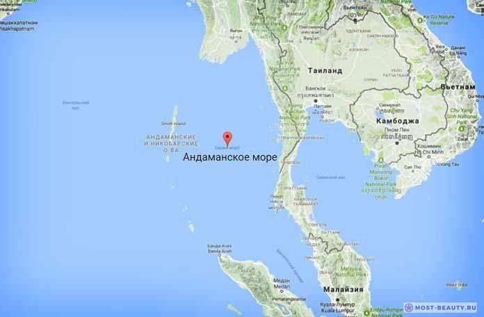 Самые красивые моря планеты: Андаманское море