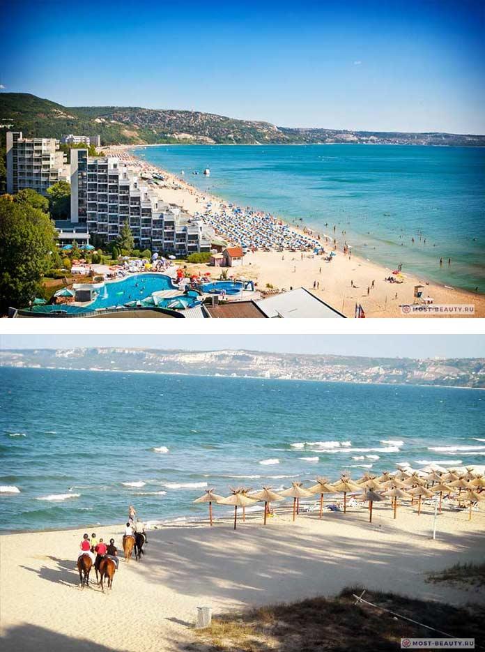 Лучшие пляжи Болгарии: Албена