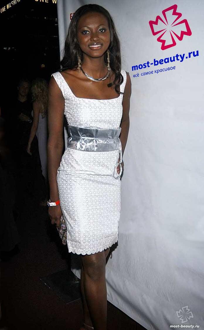 Самые красивые африканки: Анджела Асаре