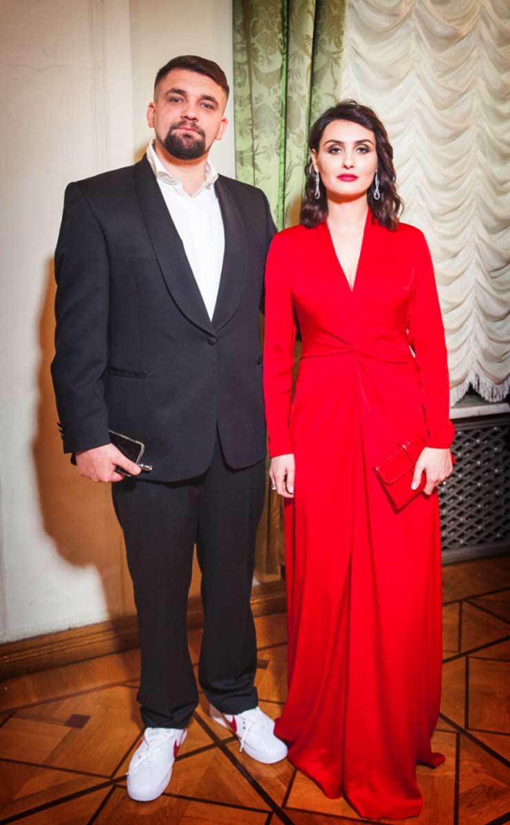 Баста и Елена Пинская