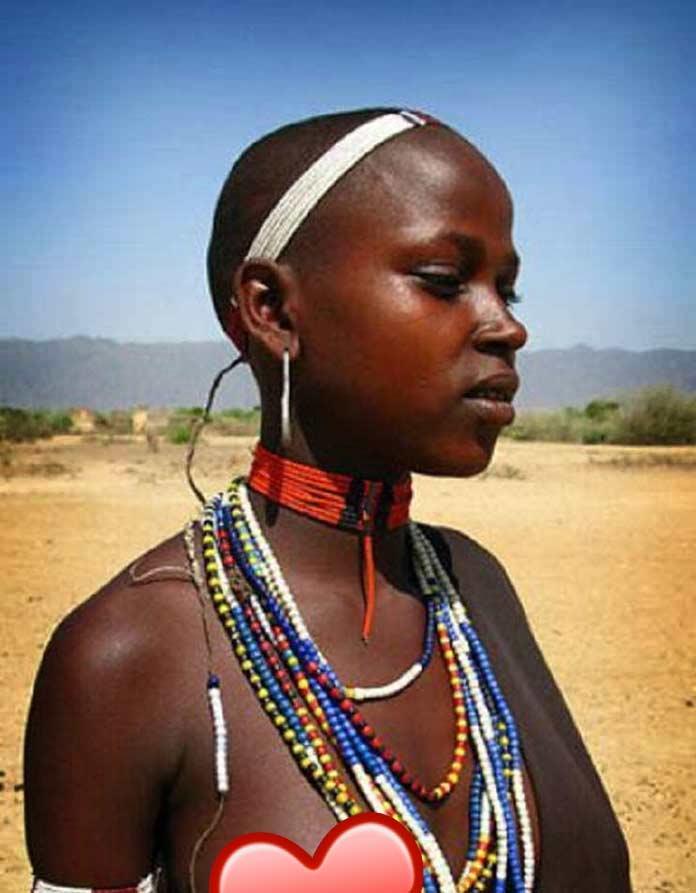 Самые красивые негритянки в мире: Бушменка