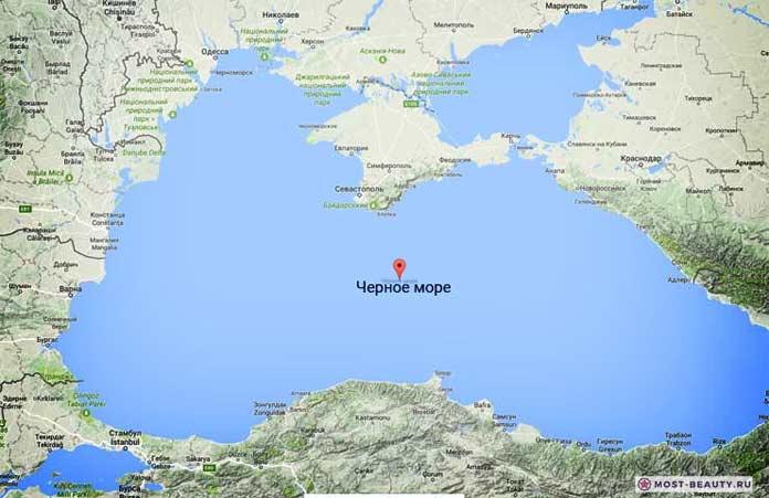 Самые красивые моря планеты: Чёрное море