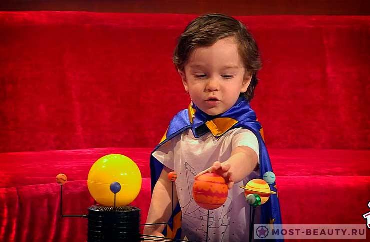 Самые красивые дети: Габриэль Волис