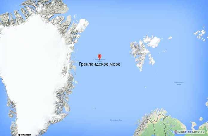 Самые красивые моря планеты: Гренландское море