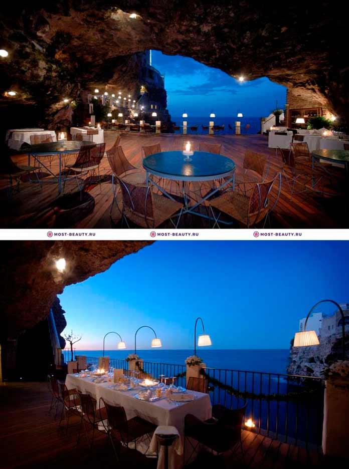 Самые красивые рестораны: Grotta Palazzese