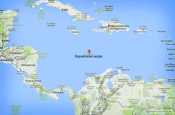 Самые красивые моря планеты: Карибское
