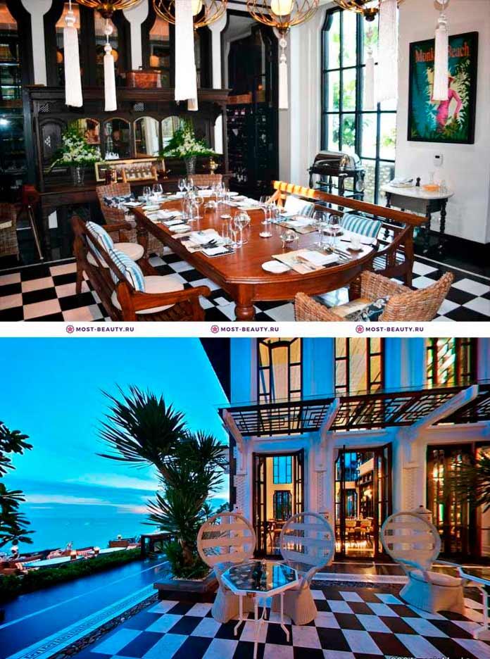 Роскошные и очень красивые рестораны: La Maison 1888. Дананг