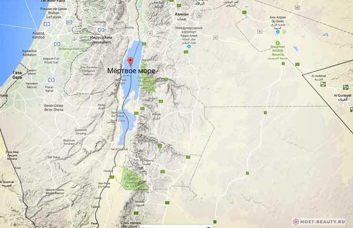 Самые красивые моря планеты: Мертвое море