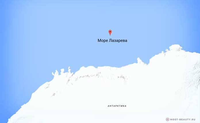 Самые красивые моря планеты: Море Лазарева