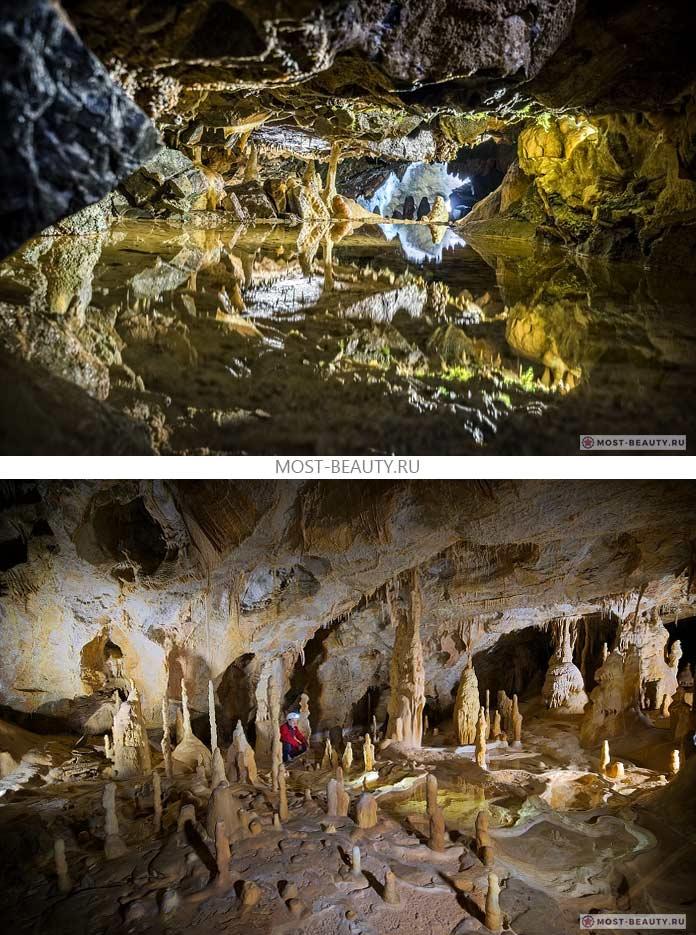 Очень красивые пещеры. CC0