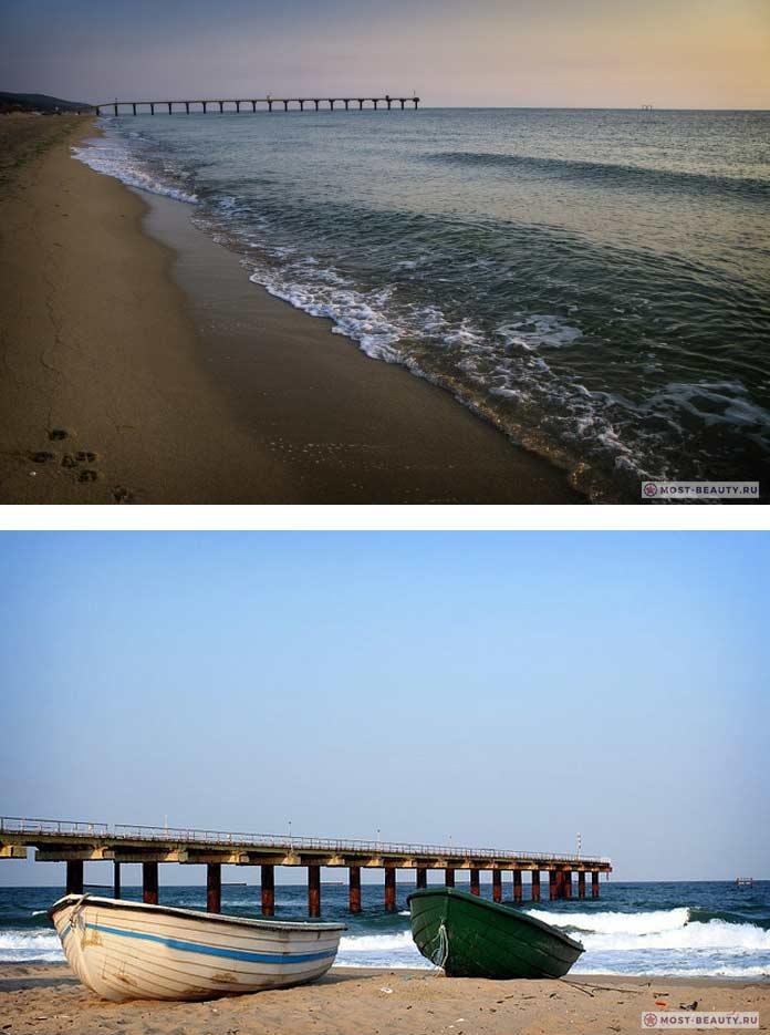 Лучшие пляжи Болгарии: Пляж в Шкорпиловцах