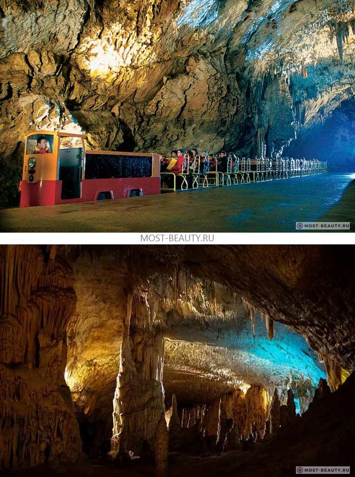Самые красивые пещеры: Postojna