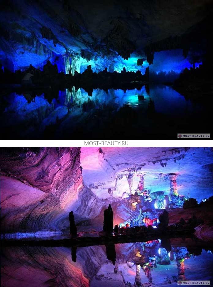 Самые красивые пещеры: Reed Flute, Китай