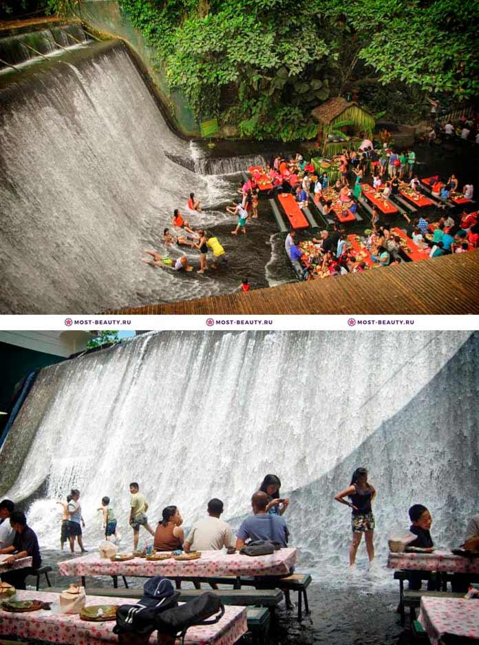 Restaurant Labassin Waterfall