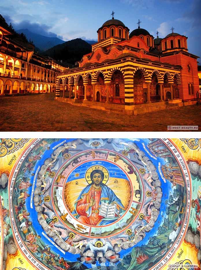 Главные достопримечательности Болгарии: Рильский монастырь. CC0