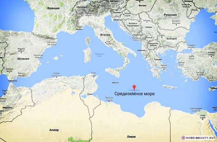 Самые красивые моря планеты: Средиземное море
